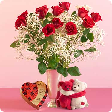 Send Flowers Philippines 1 Dz Red Roses W Chocolate