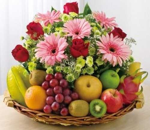 Fruit Flower Baskets Saskatoon : Send flowers philippines mix fruit basket
