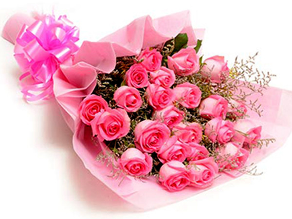 Image result for pink roses bouquet