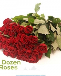 4 dozen roses bunch