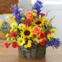 Flowers basket-2